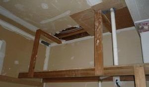 Restoration Of A Closet After A Bedroom Fire